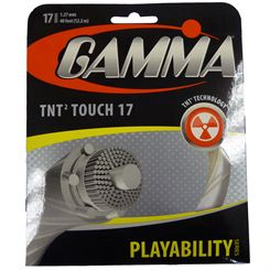 Gamma TNT2 Touch 1.27mm Tennis String Set