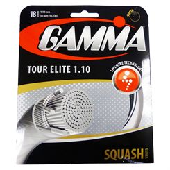 Gamma Tour Elite 1.10mm Squash String Set