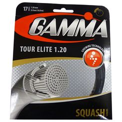 Gamma Tour Elite 1.20mm Squash String Set