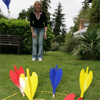 Garden Darts-In Use