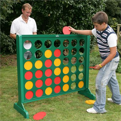 Garden Games Big 4-In Use
