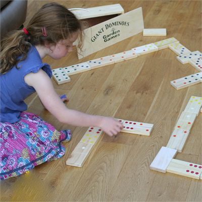 Garden Games Giant Dominoes - In Use