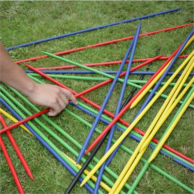 Garden Games Giant Pick Up Sticks - In Use