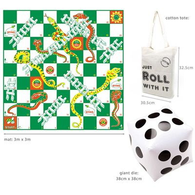 Garden Games Giant Snakes and Ladders - Size