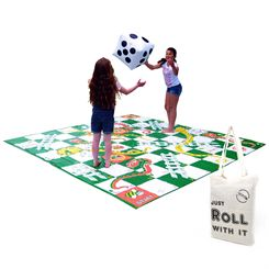 Big Game Hunters Giant Snakes and Ladders