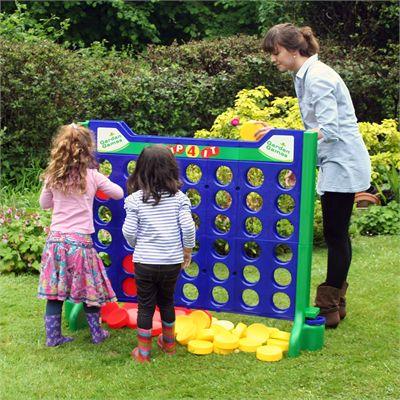 Garden Games Giant Up 4 It Game - In The Garden