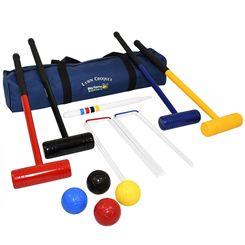 Big Game Hunters Lawn Croquet Set