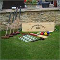 Garden Games Longworth 4 Player Croquet Set - On The Grass