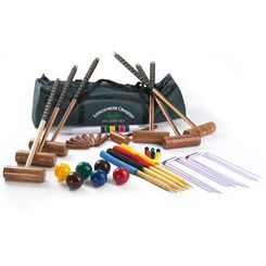 Big Game Hunters Longworth 6 Player Croquet Set