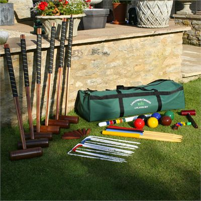 Garden Games Longworth 6 Player Croquet Set - On the Grass