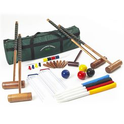 Big Game Hunters Longworth Croquet Set