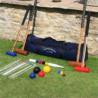 Garden Games Stanford Family Croquet Set - Lifestyle2