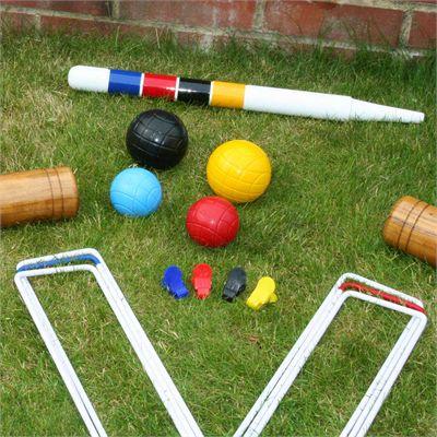 Garden Games Stanford Family Croquet Set - Lifestyle3