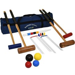 Big Game Hunters Stanford Family Croquet Set