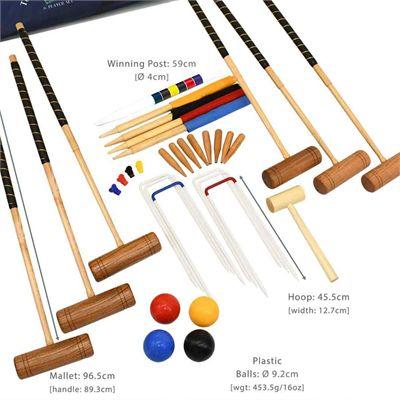 Garden Games Townsend 6 Player Croquet Set - Description