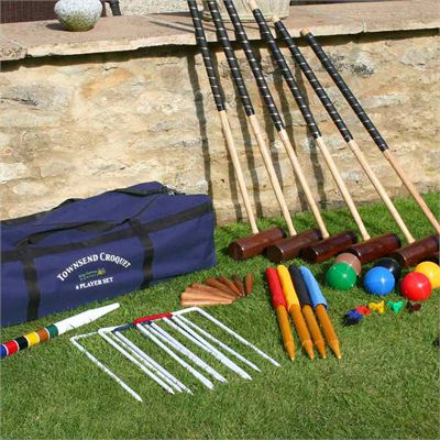 Garden Games Townsend 6 Player Croquet Set - Lifestyle