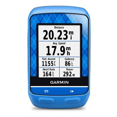 Garmin Edge 510 Team GPS Cycle Computer - Front View
