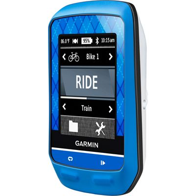 Garmin Edge 510 Team GPS Cycle Computer - Left Side View