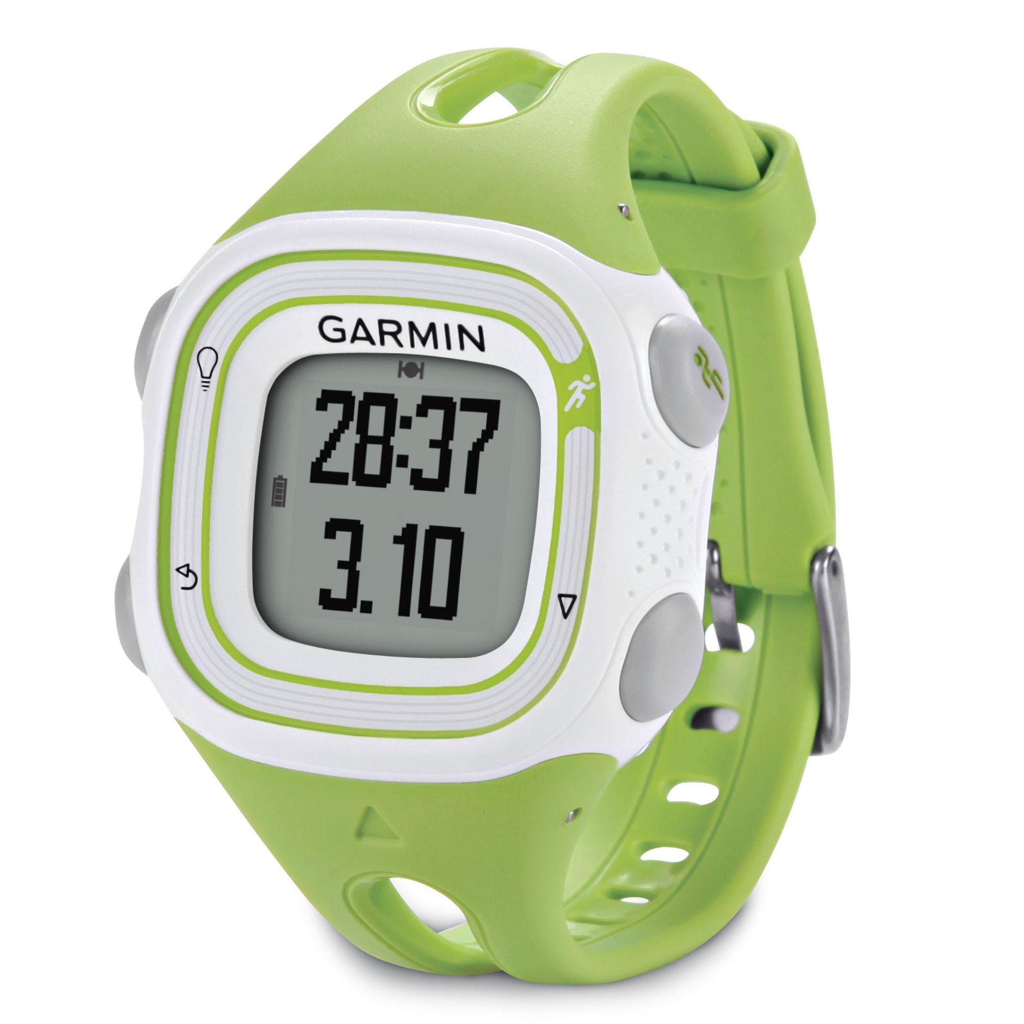 Garmin Forerunner 10 Small GPS Running Watch - Green