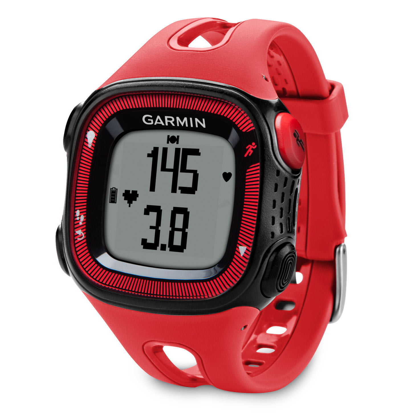 garmin forerunner 10 gps running watch orange. Black Bedroom Furniture Sets. Home Design Ideas