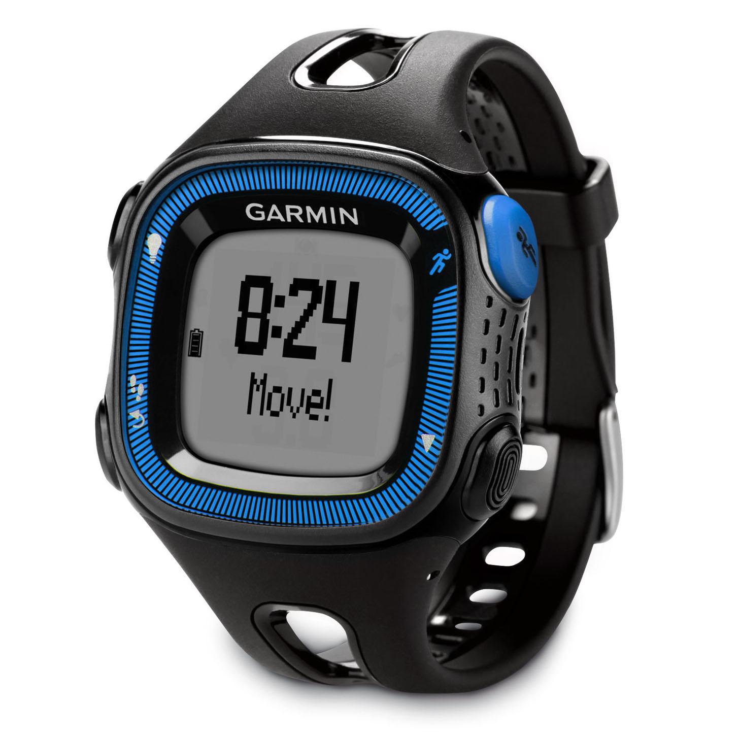 Garmin Forerunner 15 Large GPS Running Watch - Black