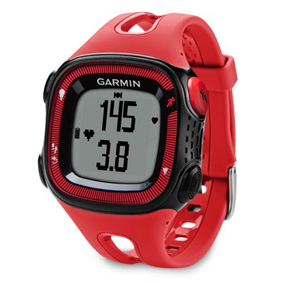 Garmin Forerunner 15 Large GPS Running Watch - Red