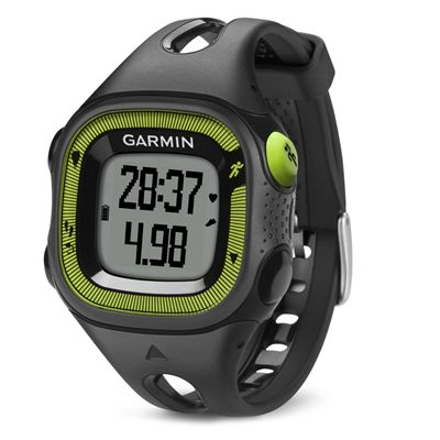 Garmin Forerunner 15 Small GPS Running Watch-Black and Green