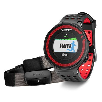 Black and Red with Heart Rate Monitor