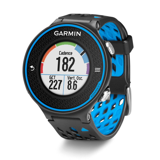 Garmin Forerunner 620 GPS Running Watch - Black / Blue