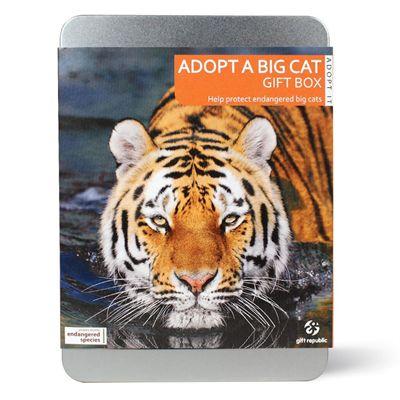 Gift Republic Adopt a Big Cat Gift Box - Main Image