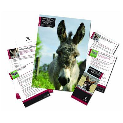 Gift Republic Adopt a Donkey Gift Box - Image 1