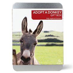 Gift Republic Adopt a Donkey Gift Box