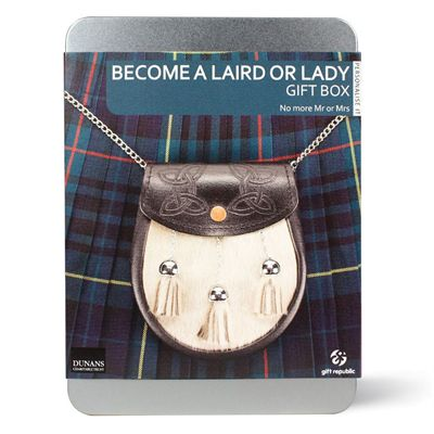 Gift Republic Become a Laird or Lady Gift Box - Main Image