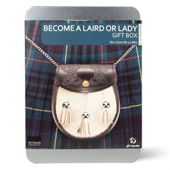 Gift Republic Become a Laird or Lady Gift Box