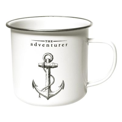 Gift Republic The Adventurer Enamel Mug