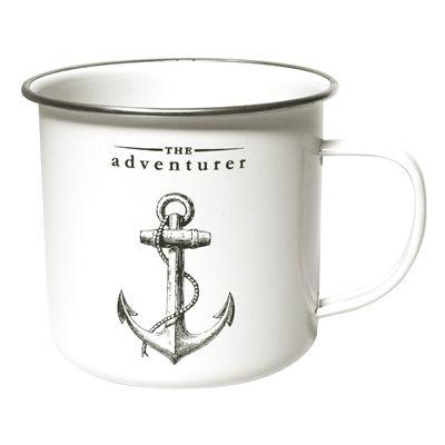 Gift Republic The Adventurer Enamel Mug