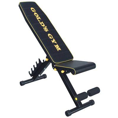 Golds Gym Utility Bench Sweatband Com
