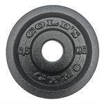 Golds Gym 0.5kg Cast Iron Standard Weight Plate
