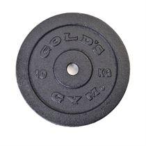 Golds Gym 10kg Cast Iron Standard Weight Plate