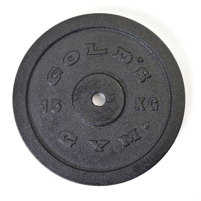 Golds Gym 15kg weight plate