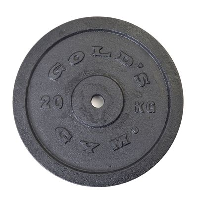 Golds Gym 20kg weight plate