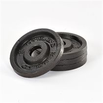 Golds Gym 4 x 0.5kg Cast Iron Standard Weight Plates