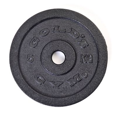 Golds Gym 5kg weight plate