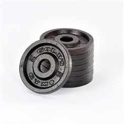 Golds Gym 8 x 0.5kg Standard Cast Iron Weight Plates