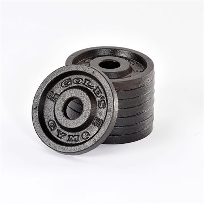Golds Gym 8 x 0.5kg weight plates