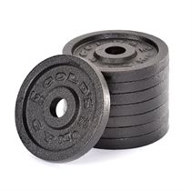 Golds Gym 8 x 1.25kg Standard Cast Iron Weight Plates