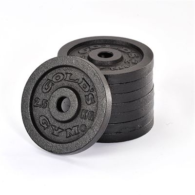 Golds Gym 8 x 2.5kg weight plates