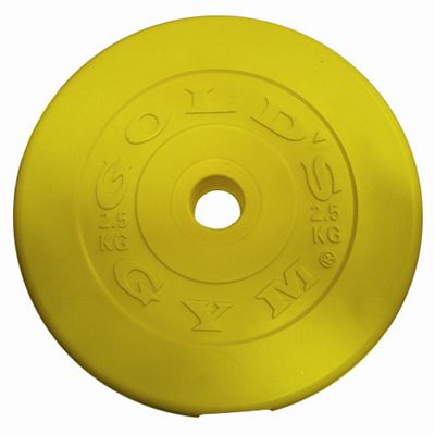 Golds Gym Coloured Vinyl Plate - 5Kg