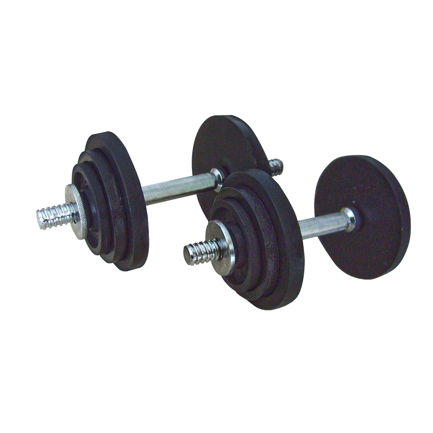 Threaded Dumbbell Handles
