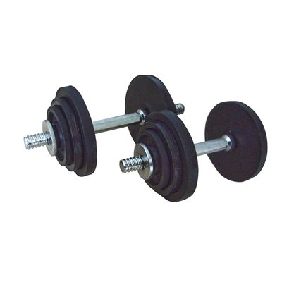 Golds Gym Hammertone Dumbbell Set - 20kg